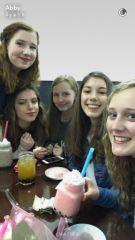 Nina et ses amies américaines