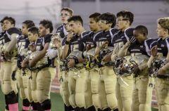 Une équipe de football américain
