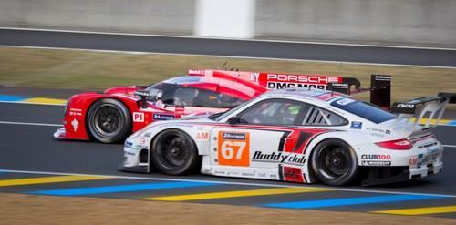 Course aux 24h du Mans