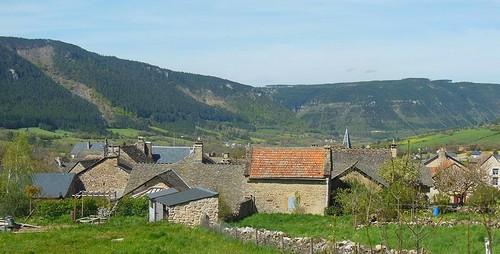 Le village où résident Marie et Max