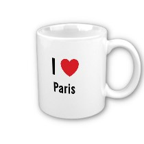 Mug I love Paris