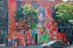 Murale à Montréal