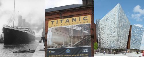 ouverture du mus e titanic belfast le 31 mars 2012 silc. Black Bedroom Furniture Sets. Home Design Ideas