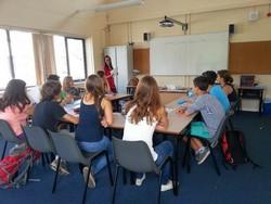 Cours d'anglais en summer camp