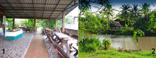 Logement volontaires et village Thailandais